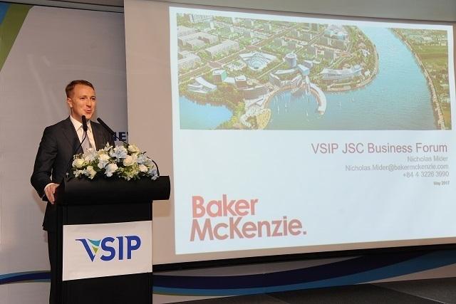 VSIP JSC tổ chức thành công diễn đàn kinh doanh