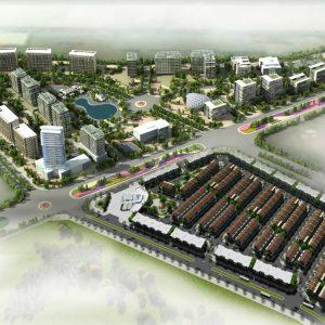 Phối cảnh dự án Centa City
